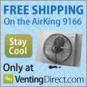 VentingDirect Free Shipping on AirKing