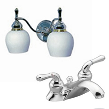 Moen Monticello Faucets and Lighting