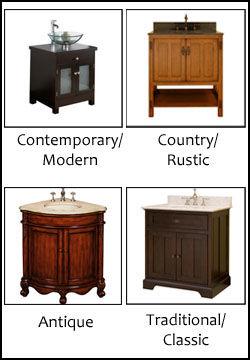 Bathroom Vanity Designs and Styles