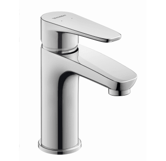 Duravit B11010001u10 Chrome B 1 Gpm Single Hole Bathroom Faucet With Pop Up Drain Assembly Faucetdirect Com