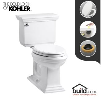 Kohler K 3819 0 White Memoirs Stately 1 6 Gpf Two Piece