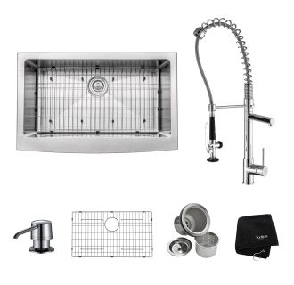 Kitchen Sink And Faucet Combos At Faucetdirect Com Upgrade Your Kitchen With One Click Buy