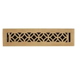 Signature Hardware 438242 Antique Brass Pasteur Floor Register 2 1 4 X 10 Faucetdirect Com