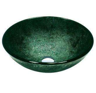 Polaris p326 gold foil glass vessel bathroom sink - First outlet vigo ...