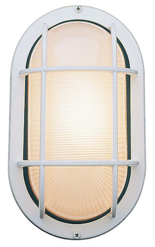 Access Lighting 20290 WHFST White Frosted Nauticus Traditional Classic Single Light Outdoor Wall Sconce from the Nauticus Collection 20290