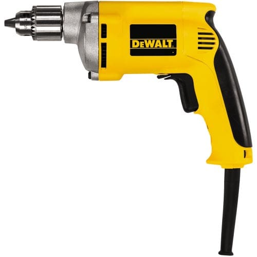 "Dewalt DW217 NA VSR Heavy-Duty 1/4"""" (6mm) VSR Drill (0-4000 rpm) DW217"