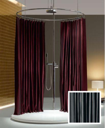 Home Design Elegant Shower Curtains