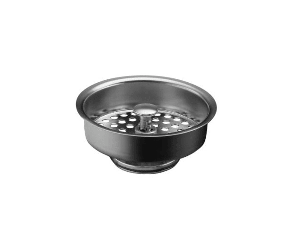 Kohler K-8803-SN Polished Nickel Duostrainer Basket Strainer (Basket Only) from Duostrainer Series K-8803