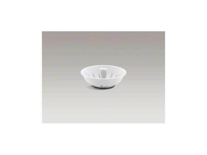 Kohler K-8803-0 White Duostrainer Basket Strainer (Basket Only) from Duostrainer Series K-8803