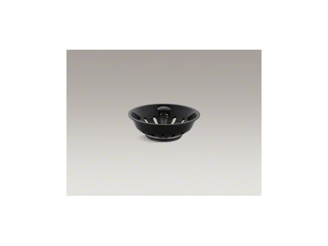 Kohler K-8803-7 Black Duostrainer Basket Strainer (Basket Only) from Duostrainer Series K-8803