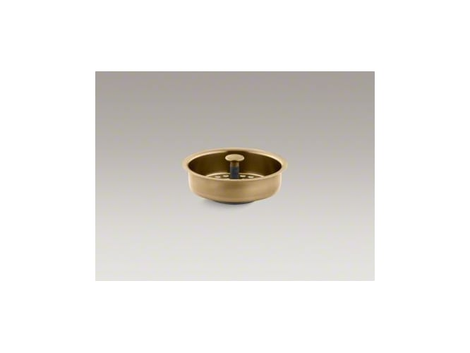 Kohler K-8803-PB Polished Brass Duostrainer Basket Strainer (Basket Only) from Duostrainer Series K-8803