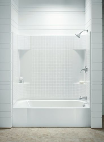 Luxury Sterling 0 White Accord Accord 30 x 55 Tile End Wall Set HD - Cool bathroom shower units Trending