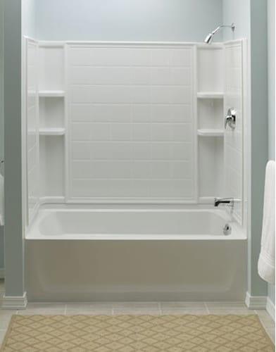 Amazing Sterling 0 White Ensemble Ensemble 32 Series 7112 60 x 33 Photos - Style Of bathroom shower units Unique