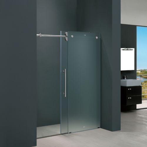 Frameless Glass Vigo VG6041CHMT4874L 48 Frameless Shower Door 3 8 Quot