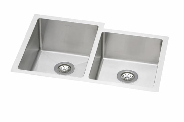 ELKAY Avado Dbl Bowl Offset Sink S Steel EFRU312010R at Sears.com
