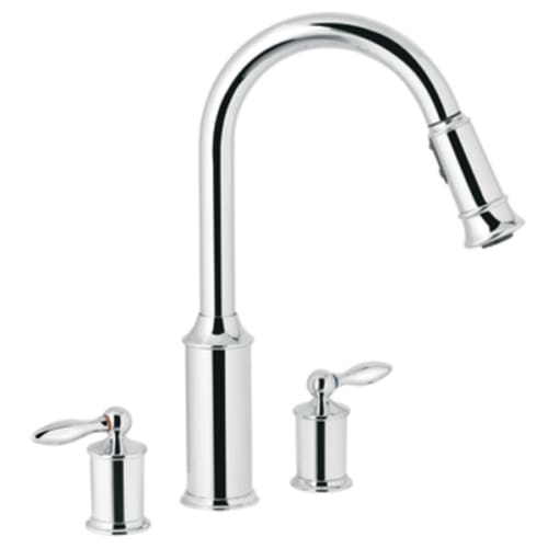 Double Handle Kitchen Faucets
