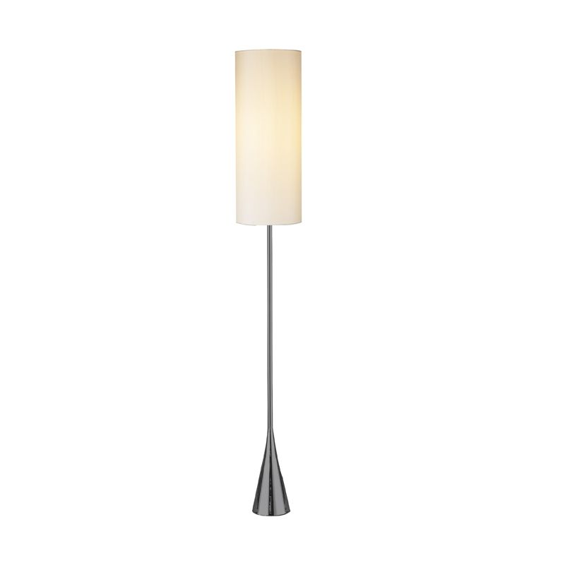 01 bella 1 light floor lamp with 3 way touch sensor black nickel lamps. Black Bedroom Furniture Sets. Home Design Ideas