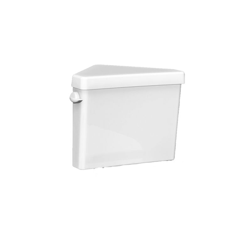 American Standard 4189D.004 Cadet Pro Triangle Toilet Tank Only - Left Mounted T White Fixture Vitreous China