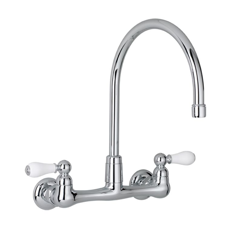 American Standard 7293.252.002 Chrome Heritage Kitchen Faucet ...