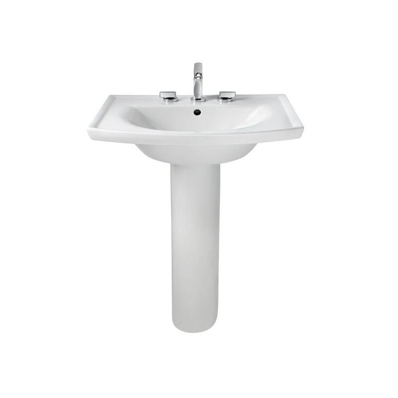 American Standard 0404 008 020 White Tropic Grande Sink