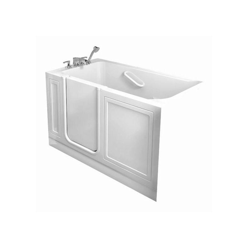 American Standard 3260214wl 60 Walkin Whirlpool Bathtub