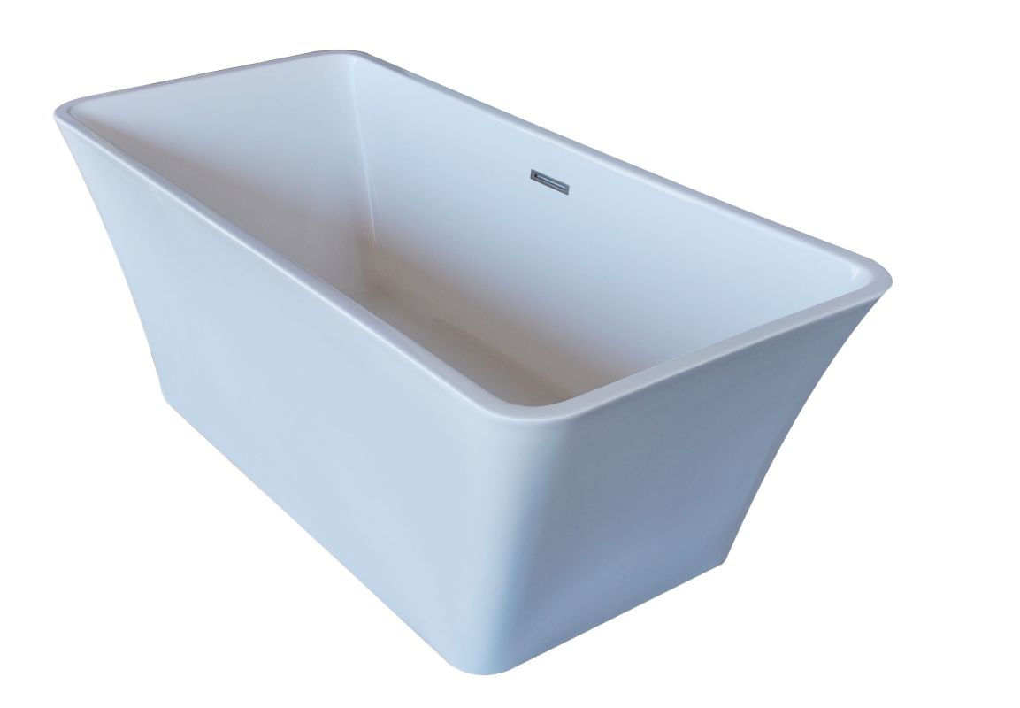 avano av6730nrsxcwxx white freestanding bathtubs 66 1 2 acrylic soaking. Black Bedroom Furniture Sets. Home Design Ideas