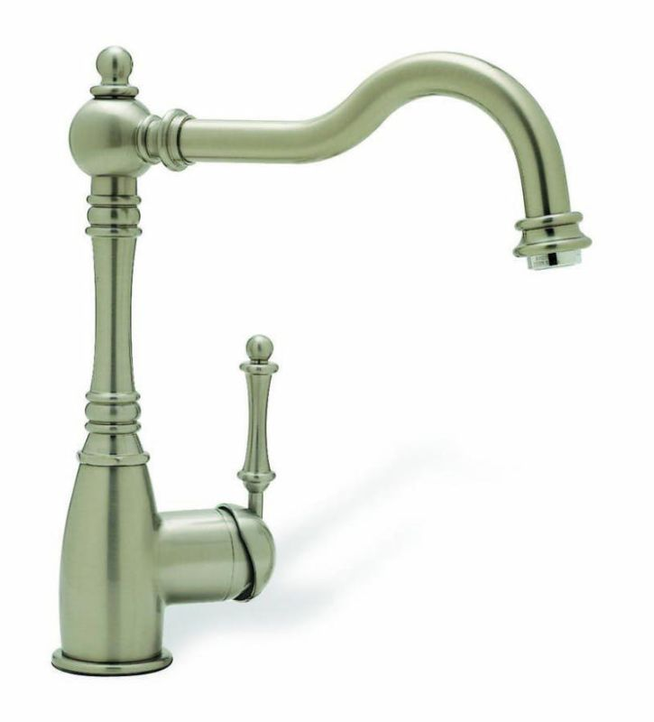 Blanco 440683 Satin Nickel Grace Single Handle Kitchen Faucet ...