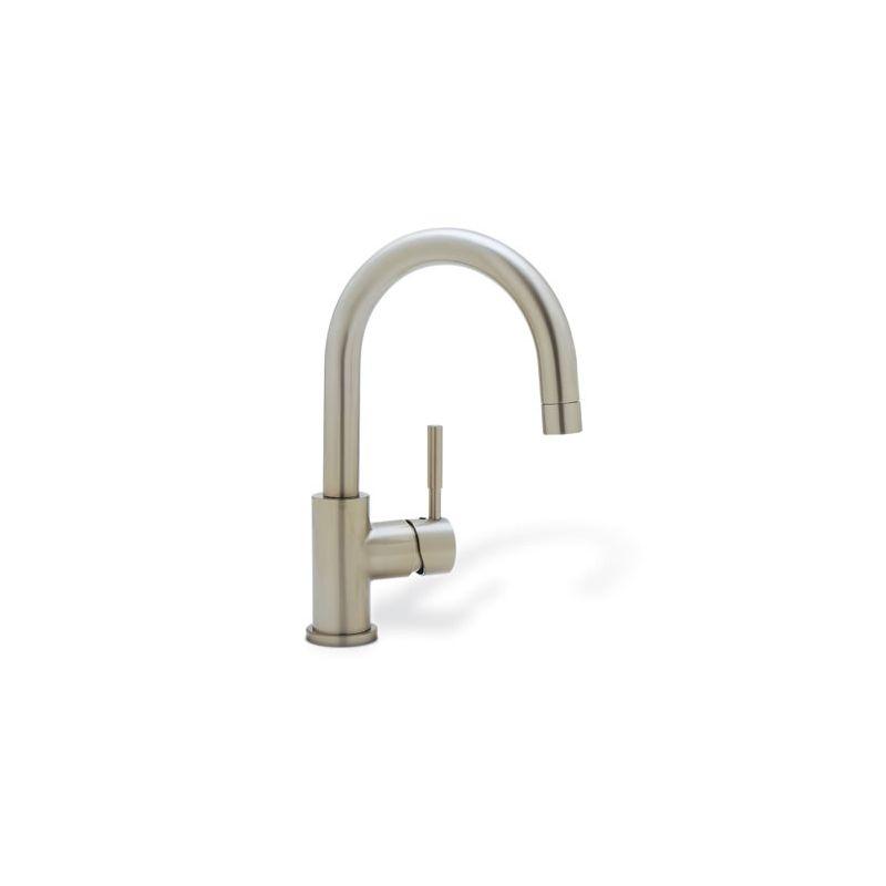 Blanco 440954 Satin Nickel Meridian Single Handle Bar Faucet ...