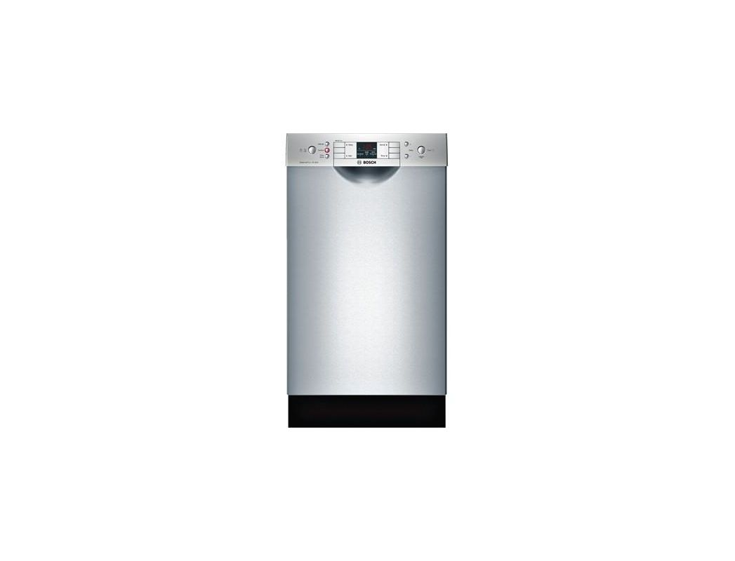 Bosch SPE53U5 18 Inch Wide 9 Cu. Ft. Energy Star Rated Built-In Dishwasher with Stainless Steel Dishwashers Built-In