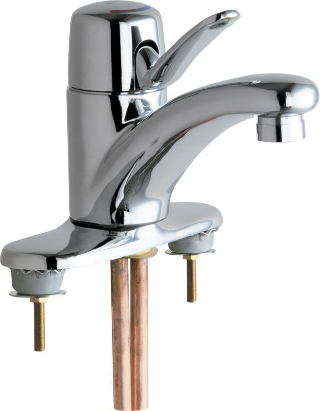 Chicago Faucets 2200 4e2805abcp Chrome Centerset Bathroom