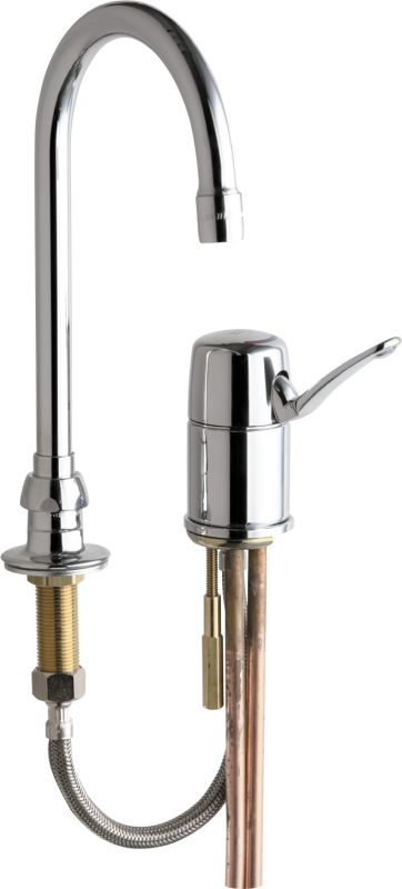 Faucets 2302-ABCP Chrome Commercial Grade High Arch Kitchen Faucet ...