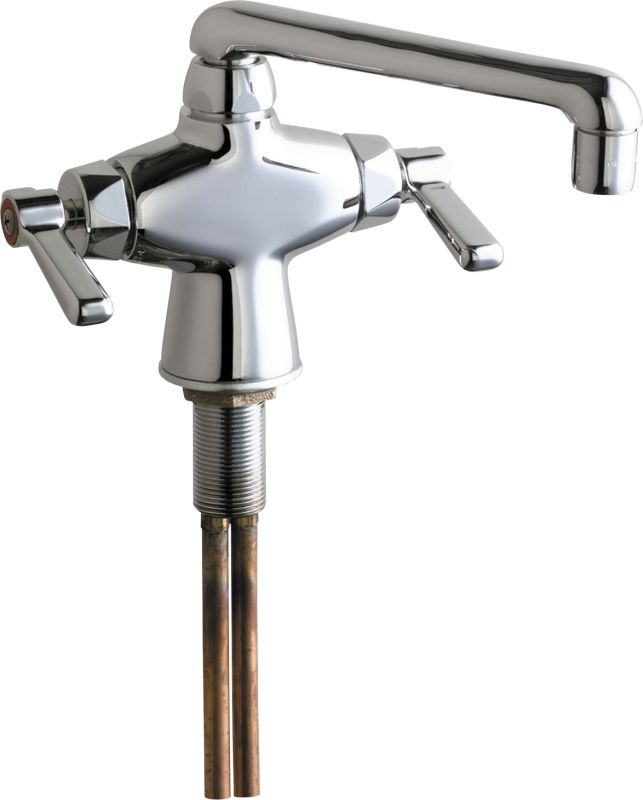 chicago faucets 51 abcp chrome commercial grade single