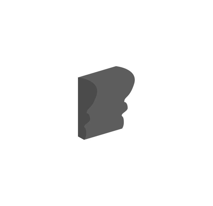 Daltile 010026cr1p2 Semigloss Whites 2 X 6 Ceramic Chair