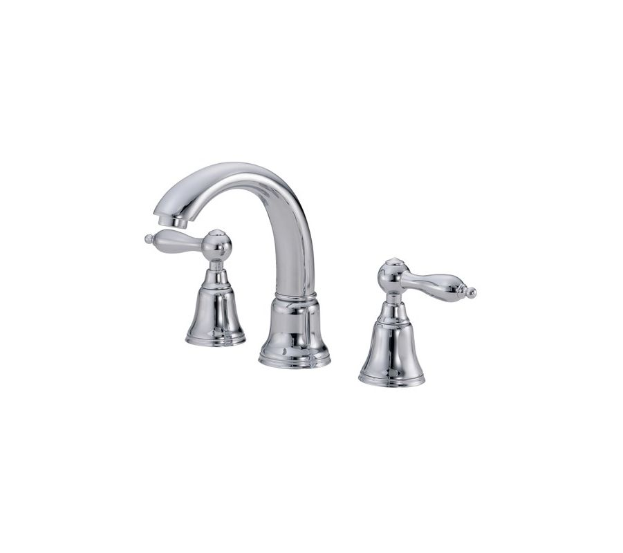 Danze D304040 Chrome Widespread Bathroom Faucet From The Fairmont Collection Valve Included