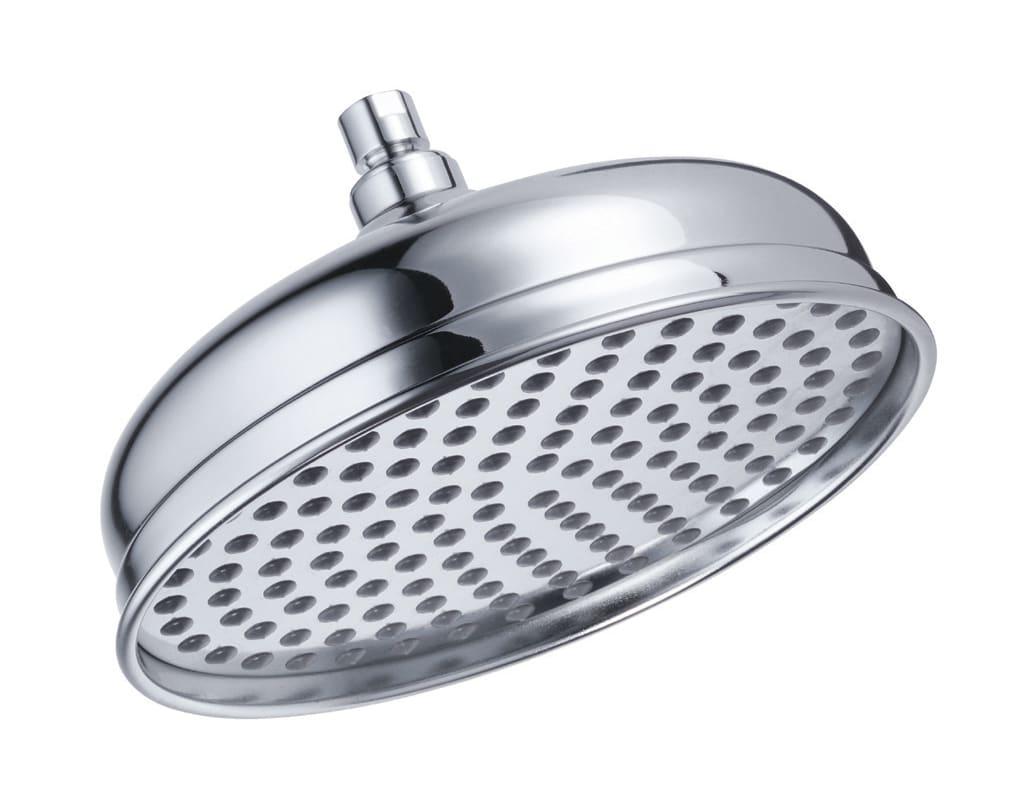 danze d461193bn brushed nickel antique bell 2 5 gpm rain shower shower head. Black Bedroom Furniture Sets. Home Design Ideas