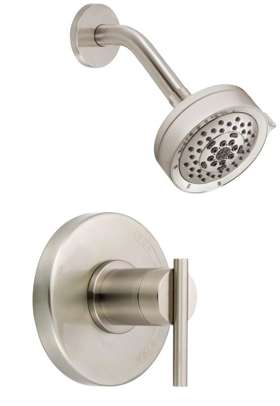 danze d512558bnt brushed nickel pressure balanced shower trim package with mu. Black Bedroom Furniture Sets. Home Design Ideas