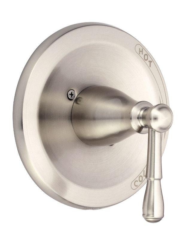 danze d510415bnt brushed nickel pressure balanced valve trim only with lever. Black Bedroom Furniture Sets. Home Design Ideas