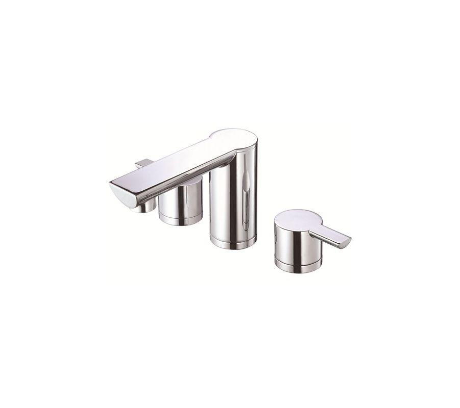 danze dh300677 chrome widespread bathroom faucet from the adonis collection. Black Bedroom Furniture Sets. Home Design Ideas