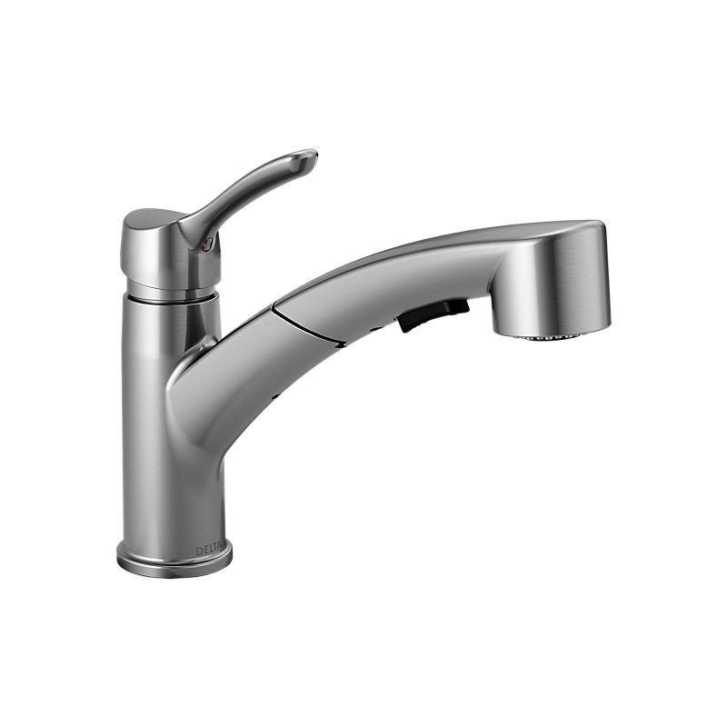 Delta 9978ardst Leland Pullout Spray Barprep Faucet With Magnatite Docking Diamond Seal And