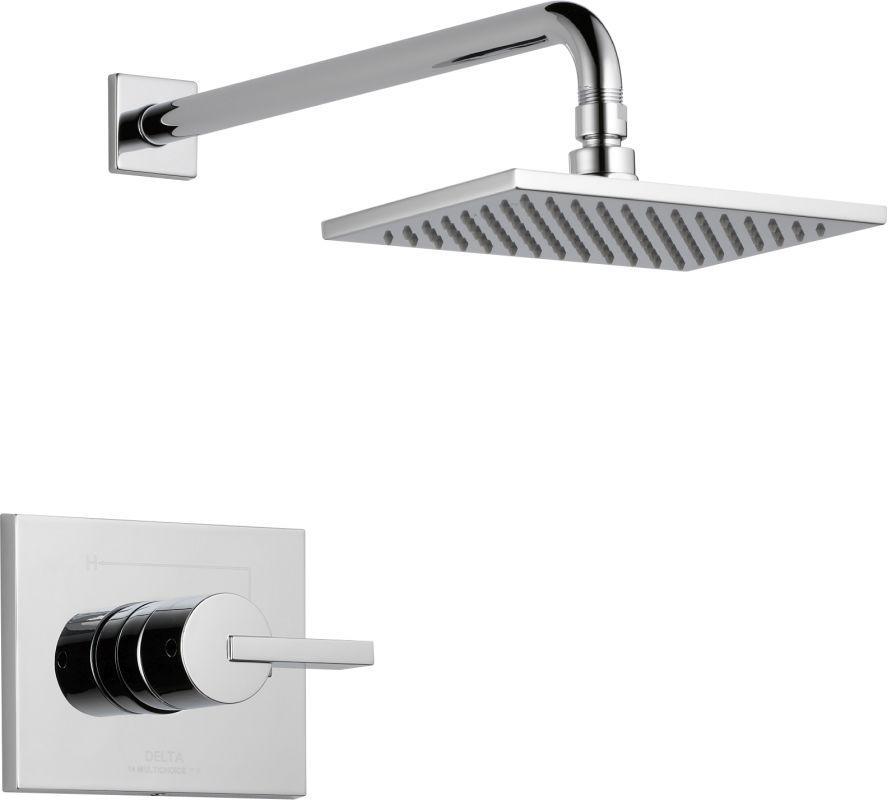 Delta T14253lhd Vero Monitor 14 Series Single Function Pressure Balanced Shower Chrome Faucet