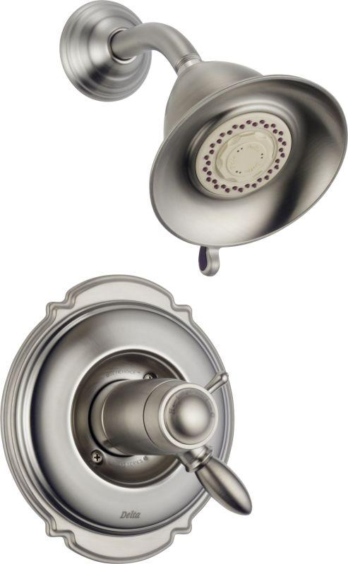 Tempassure 17t Series Tub Shower Trim T17t497 Rb: Delta Faucet Part Victorian T17t255 Ss Brilliance