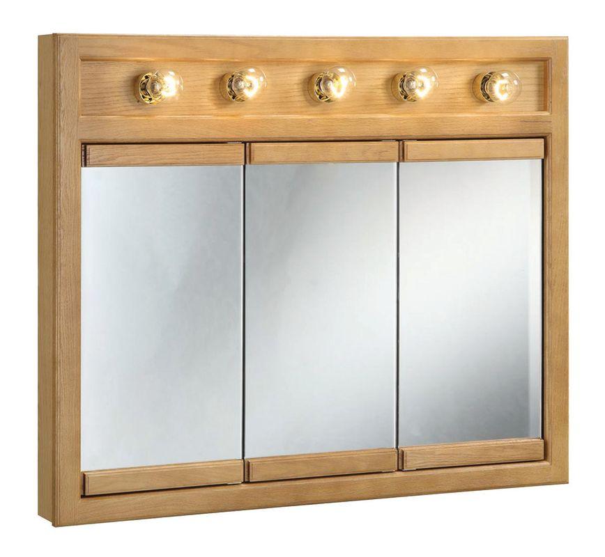 Design House 530618 Nutmeg Oak 36 Quot Framed Triple Door