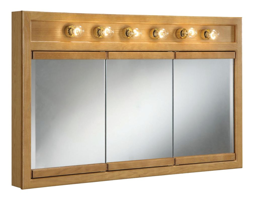 Design House 530626 Nutmeg Oak 48 Quot Framed Triple Door