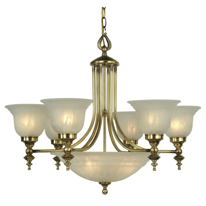 Dolan Designs 665 9 Light Up Lighting Chandelier From The ...