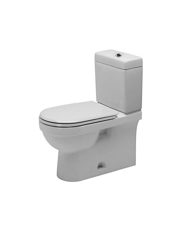 duravit d1403700 white happy d toilet two piece elongated. Black Bedroom Furniture Sets. Home Design Ideas