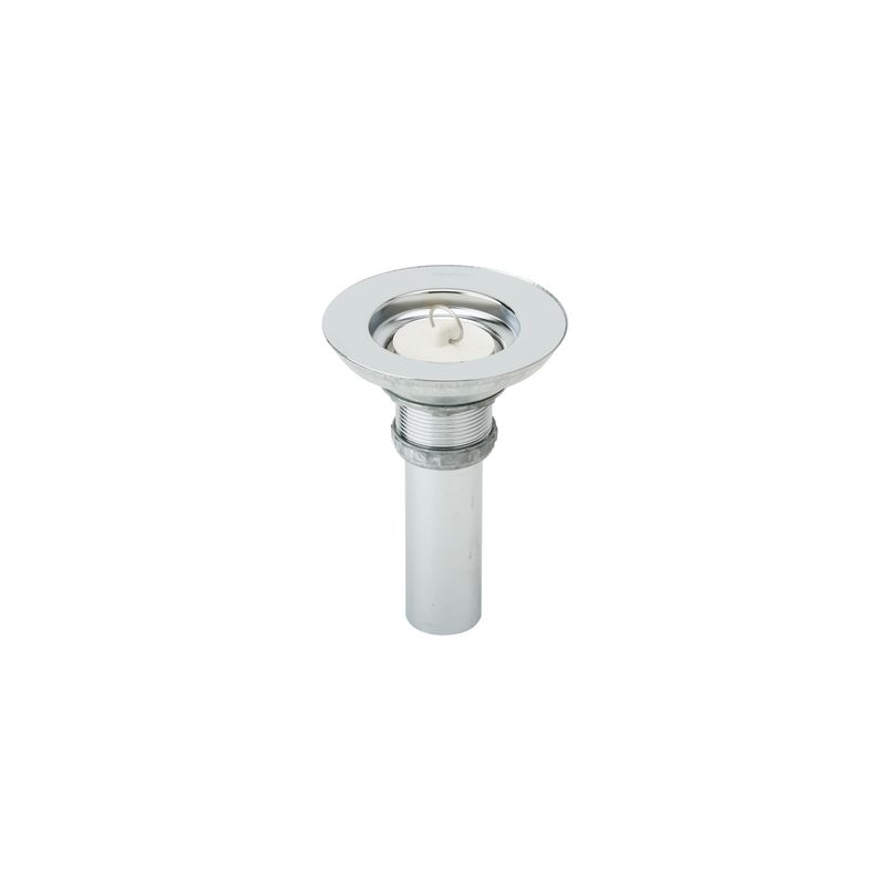 Kohler K7128acp Bathroom Sink Drain With Overflow And Rubber Stopper With Chain