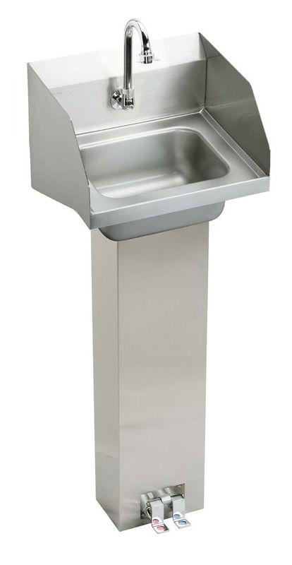 Stainless Steel Stainless Steel Pedestal Mount Handwash Sink ...
