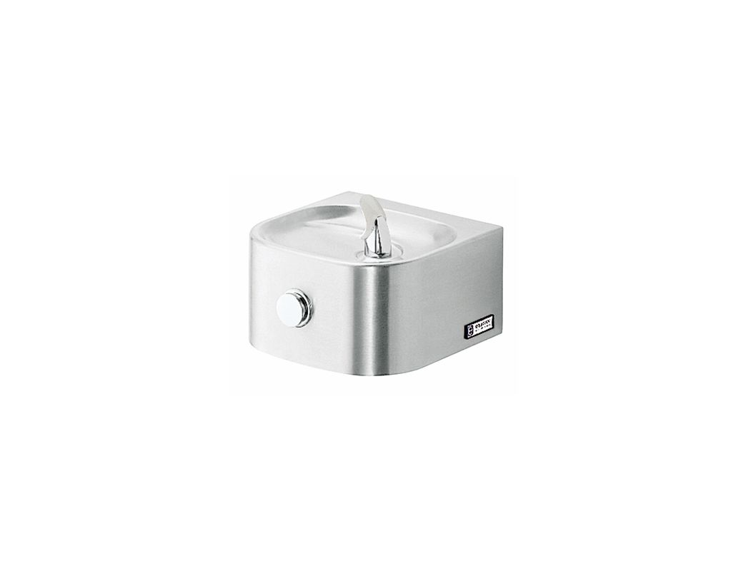 Elkay Edfp210fpk Stainless Steel Wall Mount Soft Sides Fountain With Vr Bubbler And Freeze