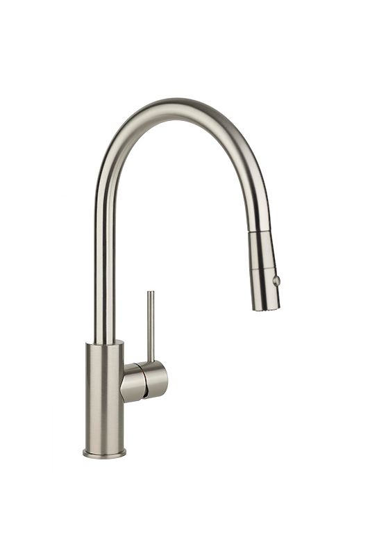 elkay lklfha2031nk brushed nickel harmony 15 3 8 quot single kraus kpf1622ksd30ch single lever cast spout kitchen