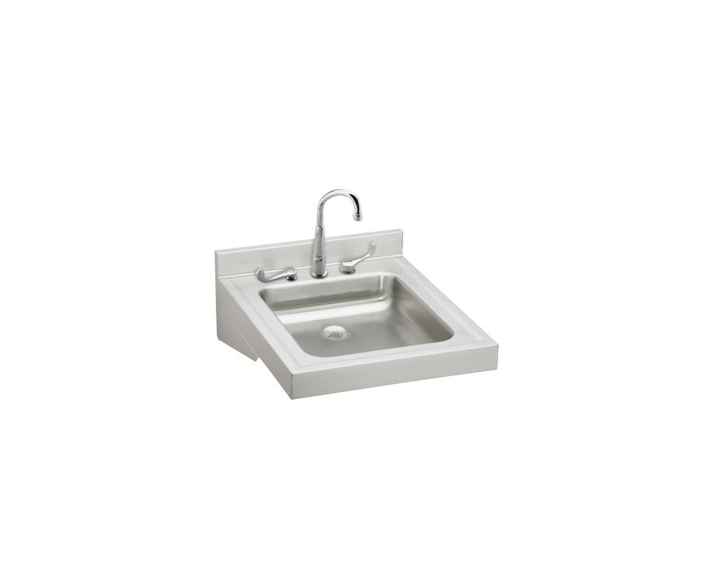 Elkay wcl1923osdc stainless steel stainless steel 23 for Bath sink and toilet packages